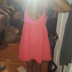 Chic summer color block dress